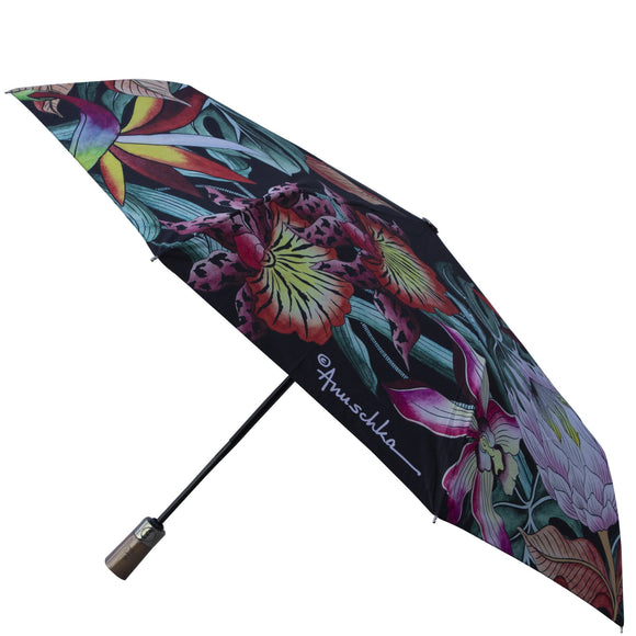 Anuschka Black Island Escape Umbrella
