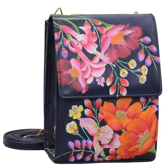 Anuschka Moonlit Meadow Triple Compartment Crossbody