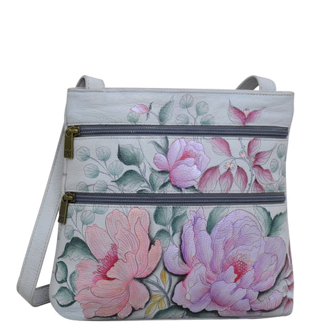 Anuschka Bel Fiori Medium Crossbody