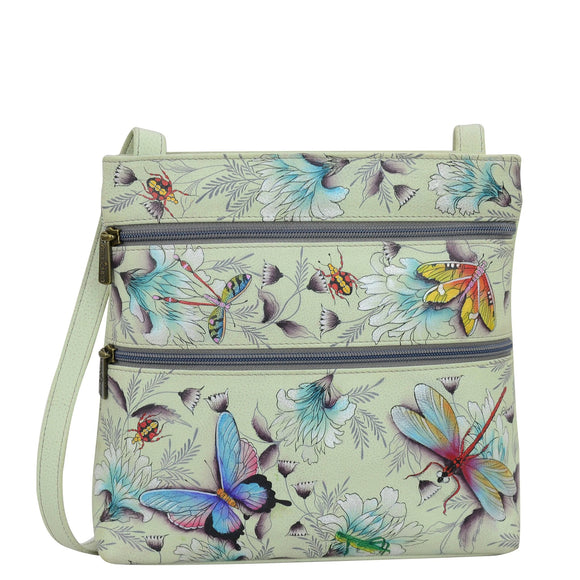 Anuschka Wondrous Wings Medium Crossbody