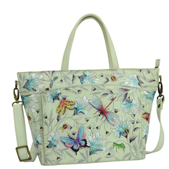 Anuschka Wondrous Wings Large Organizer Tote