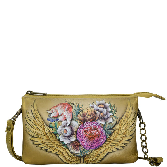 Anuschka Angel Wings Organizer Crossbody