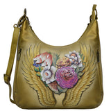 Anuschka Angel Wings Convertible Slim Hobo