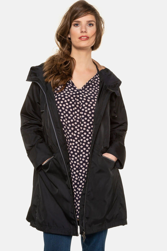 Ulla Popken Lightweight Fully Lined Jacket