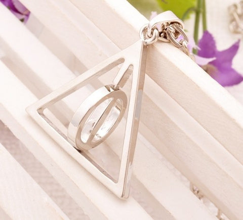 Harry Potter Deathly Hallows Neckalce