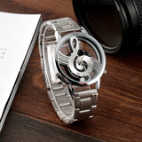 Musical Note Fashion Style Men's Watch