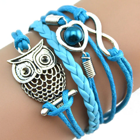 Harry Potter Owl Infinity Bracelet