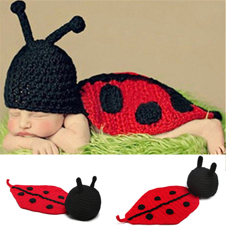 Baby Costume Hand Made Lady Bug