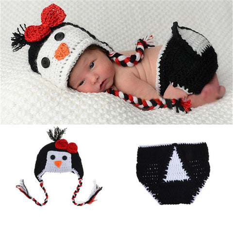Baby Costume Hand Made Penguin