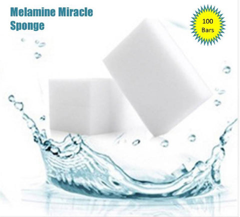 100 Bars Melamine Sponges