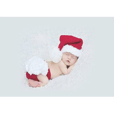 Baby Costume Hand Made Santa Suit