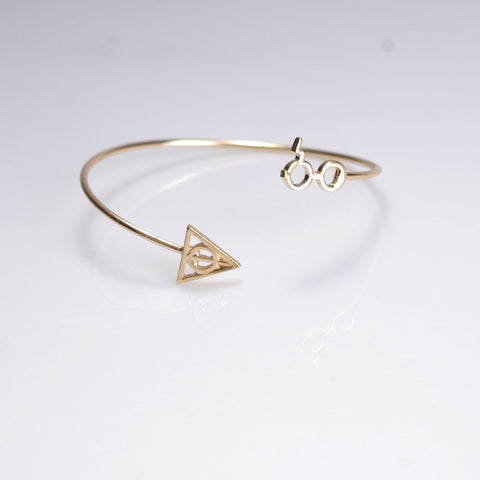 Harry Potter Bangle Bracelet