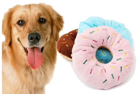 Doggy Donut Toy