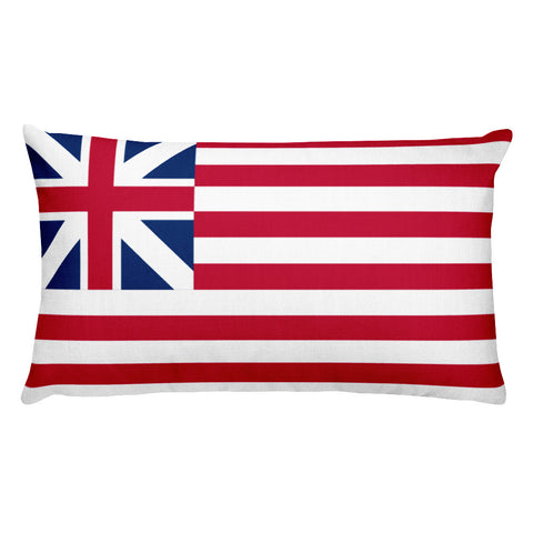 Flag Double-sided Rectangular Pillow