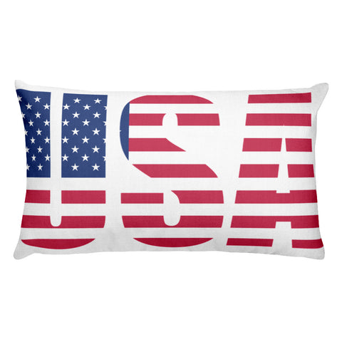 USA Double-sided Rectangular Pillow
