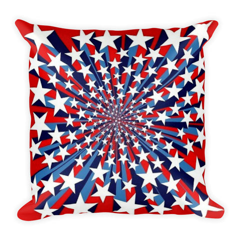 Star Burst Double-sided Square Pillow