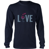 Love Wine Long Sleeve T-Shirt