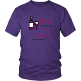 Wine is the Answer Men's T-Shirt