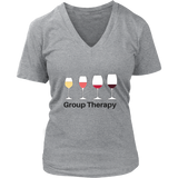 Group Therapy Women's V-Neck T-Shirt