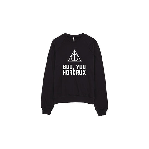 Boo You Horcrux Harry Potter Mean Girls Sweater
