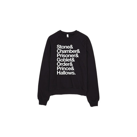 Stone Chamber Prisoner Goblet Hallows Sweater