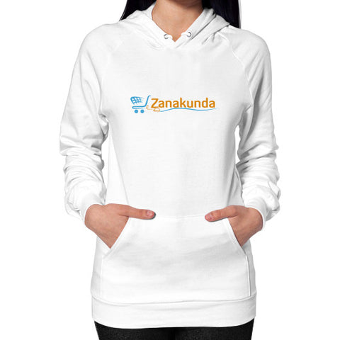Hoodie (on woman) White Zanakunda