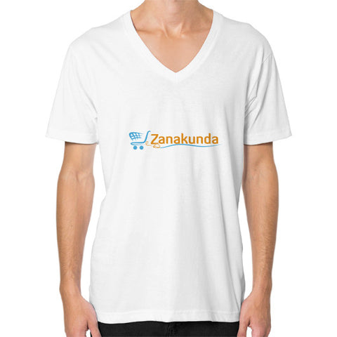 V-Neck (on man) White Zanakunda