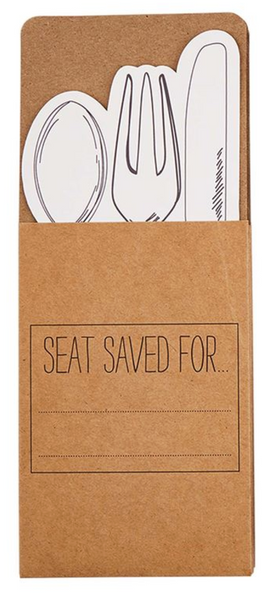 Seat Kraft Utensil Pocket