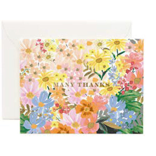 Marguerite Thank You Card