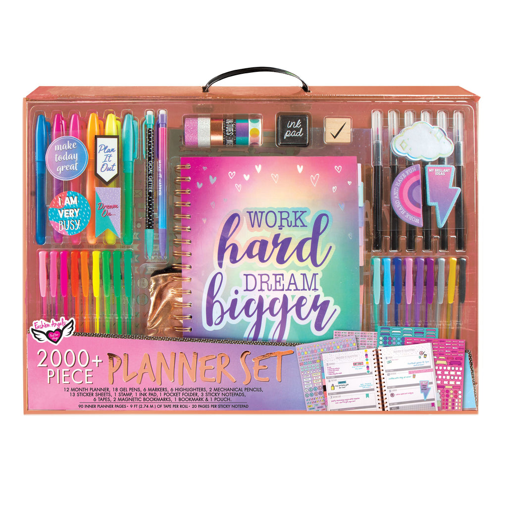 Work Hard Dream Bigger Planner Set