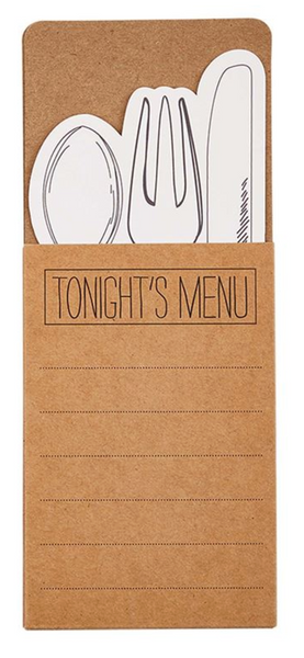 Menu Kraft Utensil Pocket