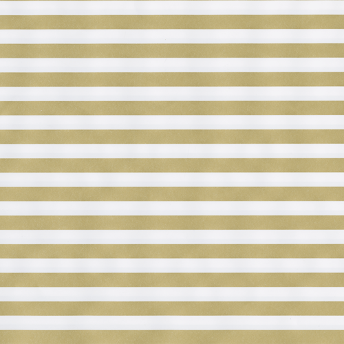 Gold Stripe/Silver Reversible Continuous Roll