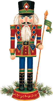 Nutcracker Ornament Tag