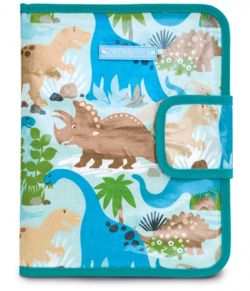 Chalk N Marker Art Case - Dinosaur World