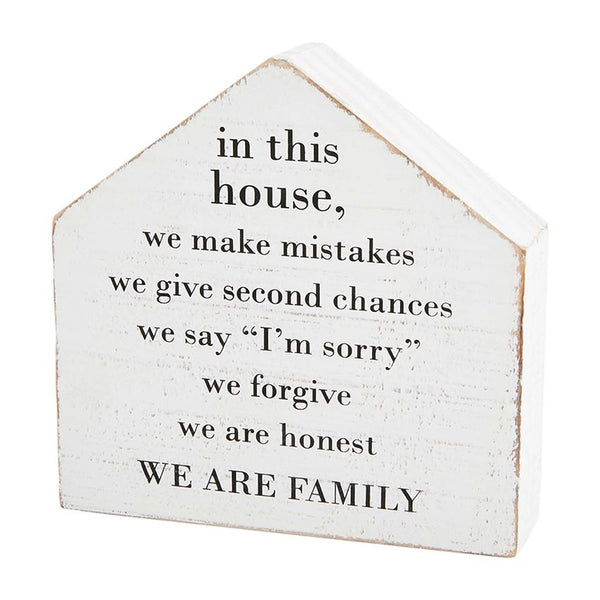 In This House Plaque