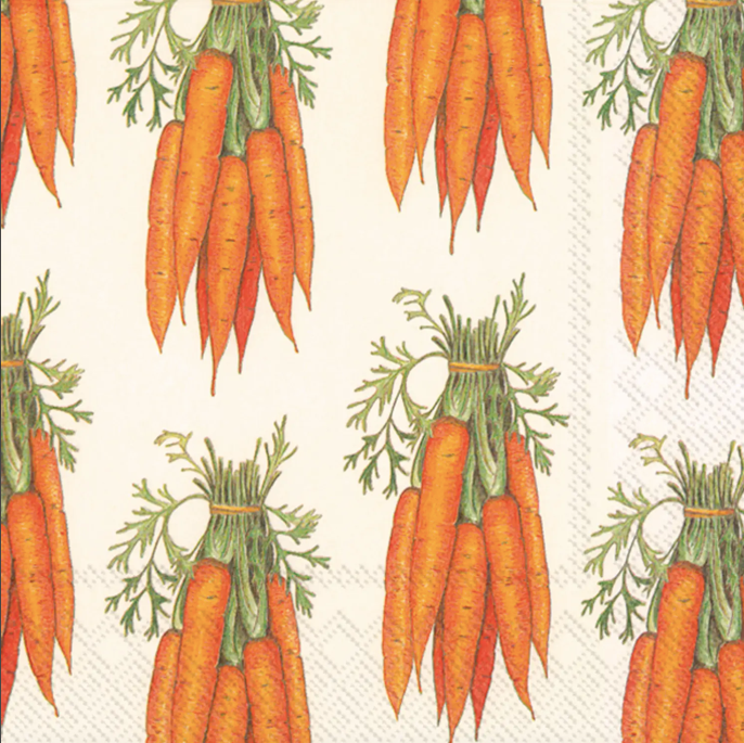 Carrots Easter Paper Lunch Napkins