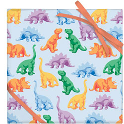 Colorful Dinosaurs Sheet
