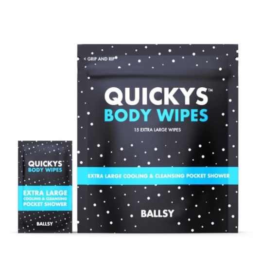 Quickys Body Wipes