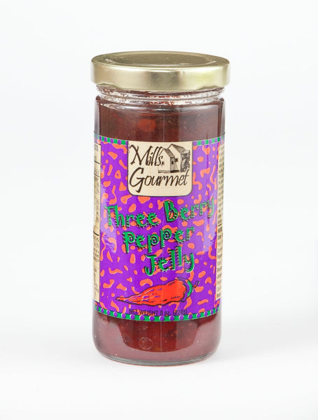 Three Berry Pepper Jelly