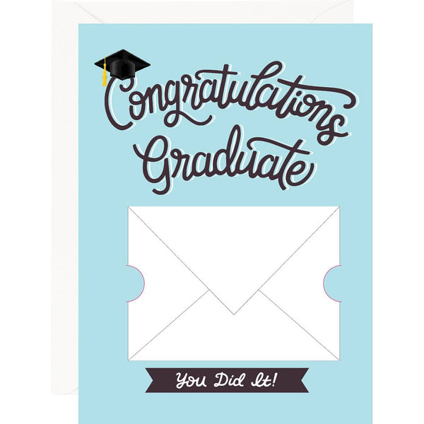 You Did It! Gift Card Envelope