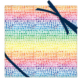 Watercolor Rainbow Dot Wrapping Sheet