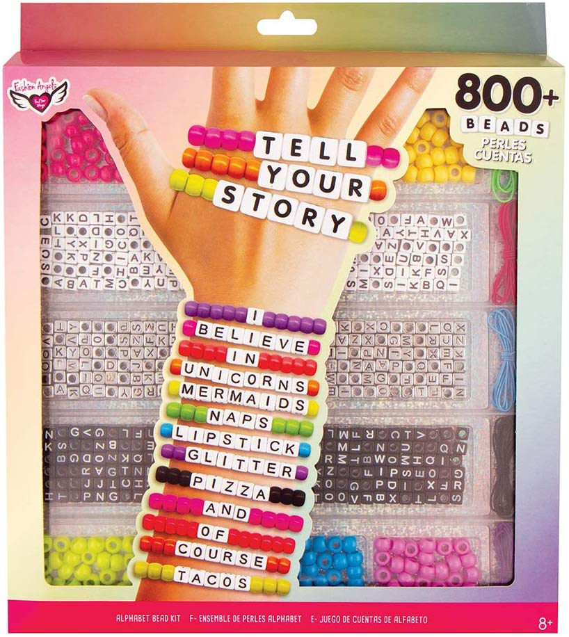 Tell Your Story Alphabet Bead Case - Large