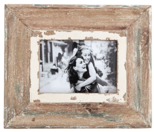 5 x 7 Weathered Wood Frame