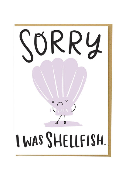 Sorry I was Shellfish