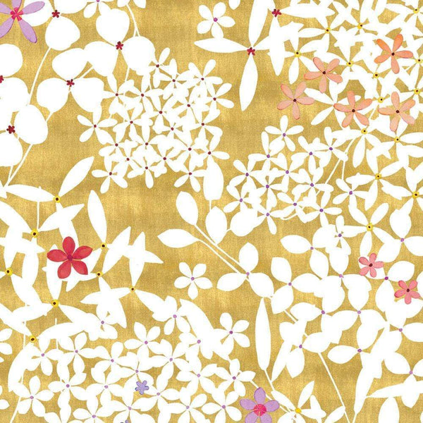 Floral Lace Gold Sheet