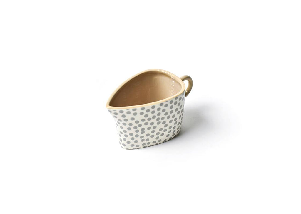 Neutral oval 2 cup measuring cup