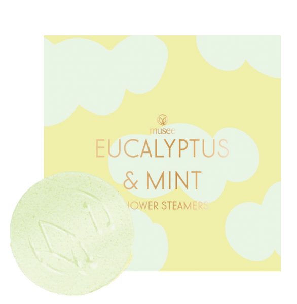 Eucalyptus and Mint Shower Steamers