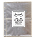 Universal Recipe Binder Refill Sheets