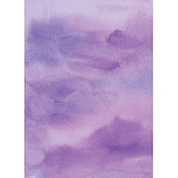 Purple Watercolor Sheet
