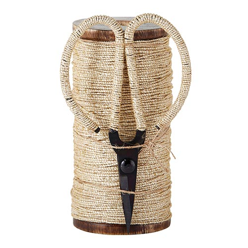 Natural Jute/Gold Twine with Scissors